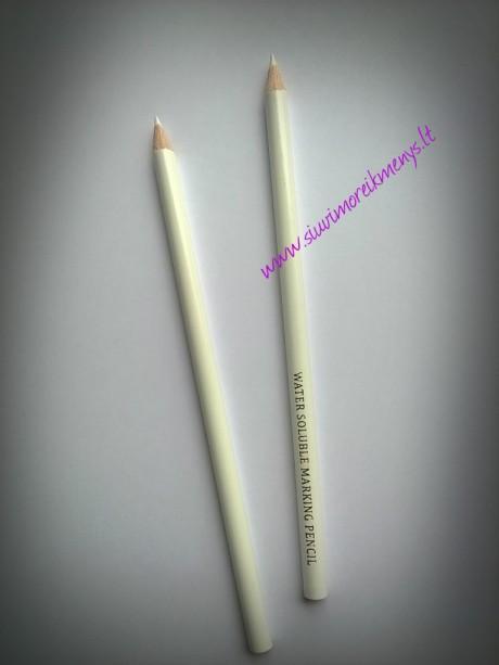 Išplaunamas žymėjimo pieštukas, baltos sp.