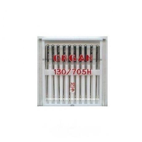 Standartinių mašininių adatų komplektas, 130/705H STANDARD 70