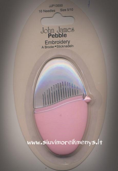 Siuvinėjimo adatų komplektas JJP13550 Pebble