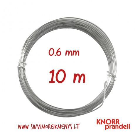 Varinė viela su sidabro padengimu, 0,6 mm; 6461069