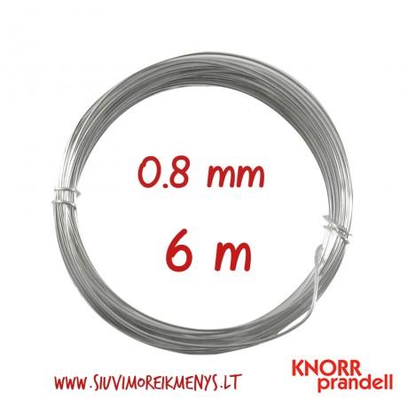 Varinė viela su sidabro padengimu, 0,8 mm; 6461085