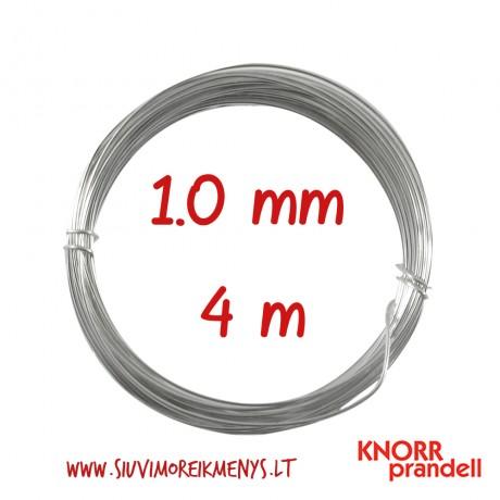 Varinė viela su sidabro padengimu, 1,0 mm; 6461107