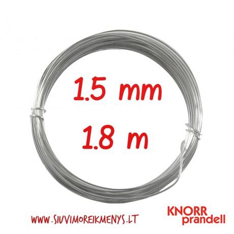 Varinė viela su sidabro padengimu, 1,5 mm; 6461158