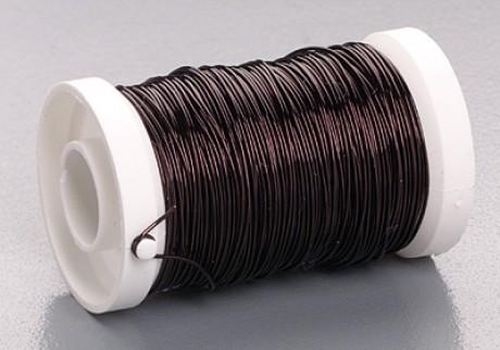 Metalinė viela, juodos sp., 0,5 mm; 6466800
