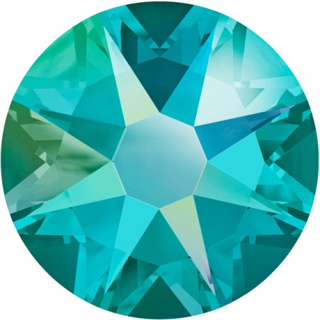 Swarovski kristalai 2078/16 Blue Zircon Shimmer