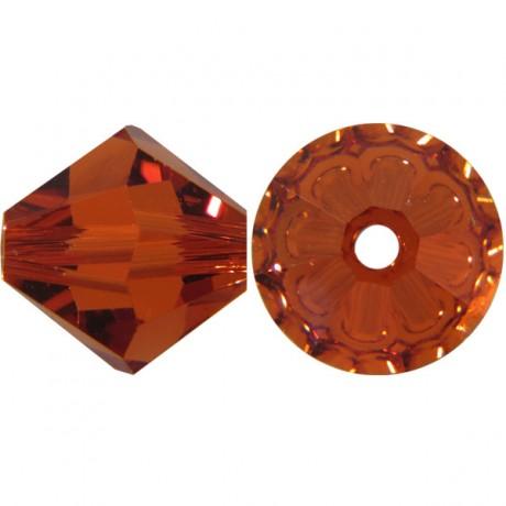 Karoliukai 5328/4 Indian Red