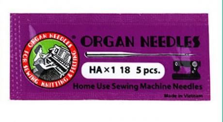 Standartinių mašininių adatų komplektas AO-HAX1AR/110