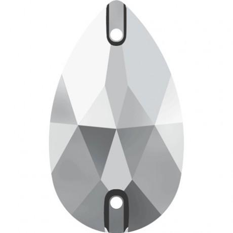 Prisiuvamas kristalas 3230/28 Crystal Chrome