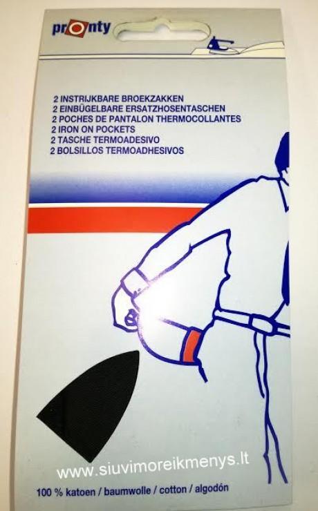 Kišenė termoklijuojama (su klijais) 730110090