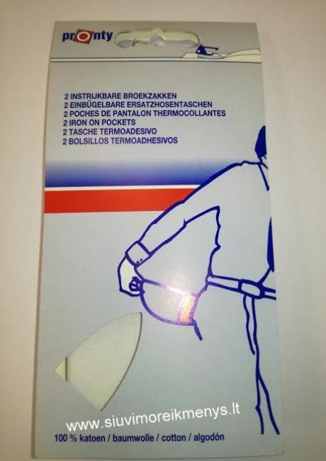 Kišenė termoklijuojama (su klijais) 730110010