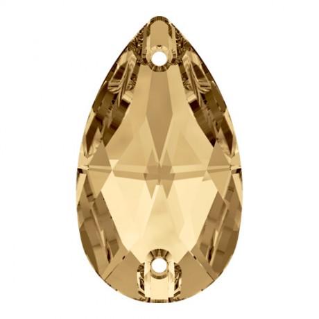3230/18 Drop Sew - on stone Golden Shadow