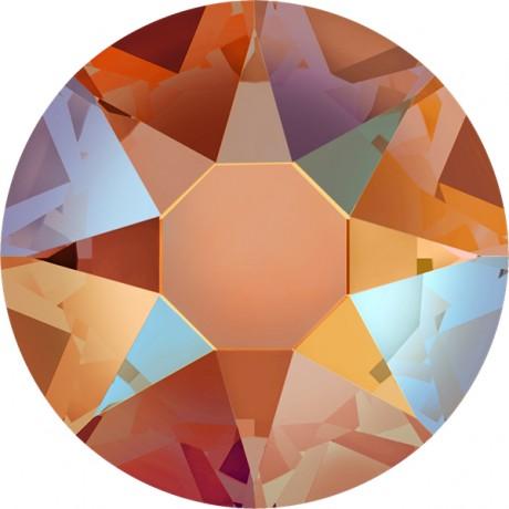 Swarovski kristalai 2078/34 Tangerine Shimmer A