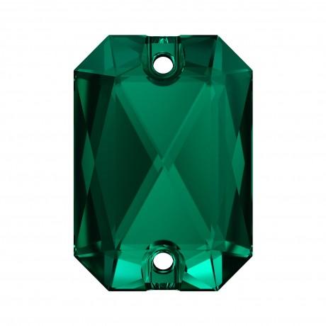 Prisiuvamas kristalas 3252/20, Emerald