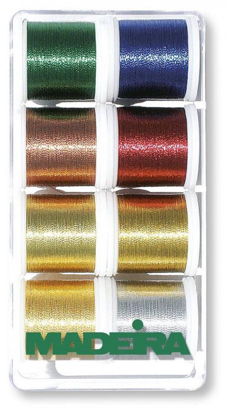 Madeira metalizuoti siūlai 8012