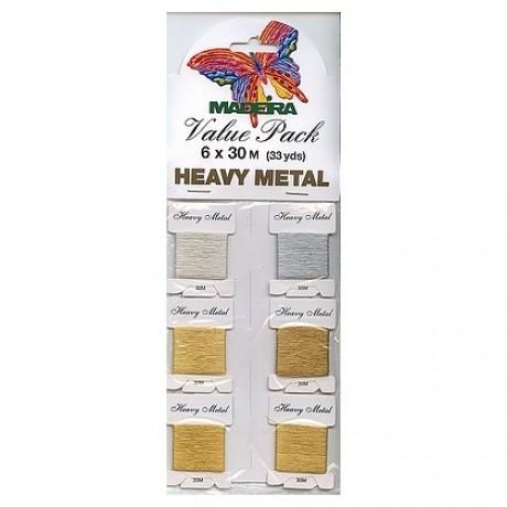 Madeira metalizuoti siūlai 9701