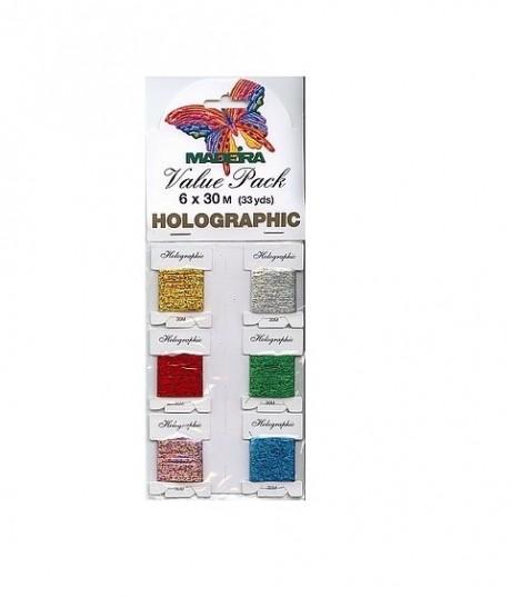 Madeira holografiniai siūlai 9702