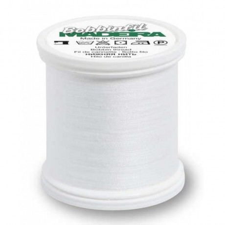 "Madeira ""Bobbinfil"" siuvinėjimo siūlai 9764, sp. balta"