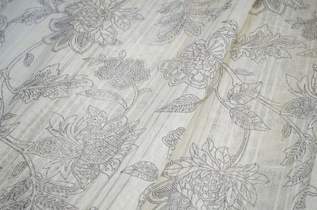 Dekoratyvinis lino audinys užuolaidoms 14с211