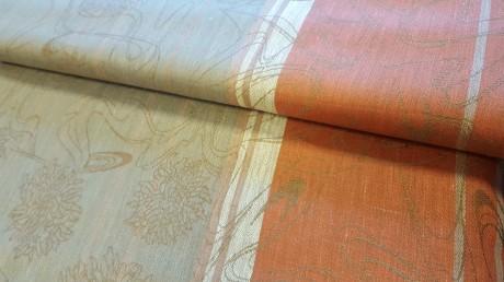 Dekoratyvinis lino audinys staltiesėms 10c295