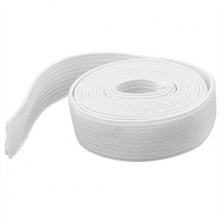 Austa elastinė juosta (guma) 35 mm, sp. balta