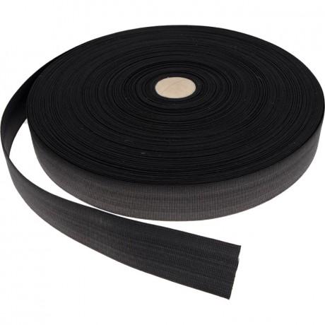 Austa elastinė juosta (guma) 35 mm, sp. juoda