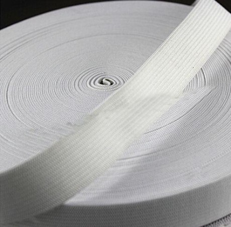 Austa elastinė juosta (guma) 40 mm, sp. balta