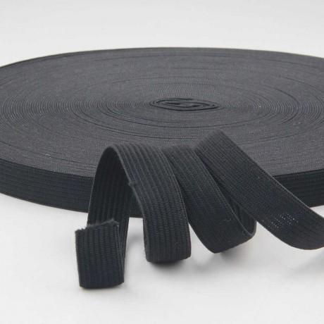 Austa elastinė juosta (guma) 40 mm, sp. juoda