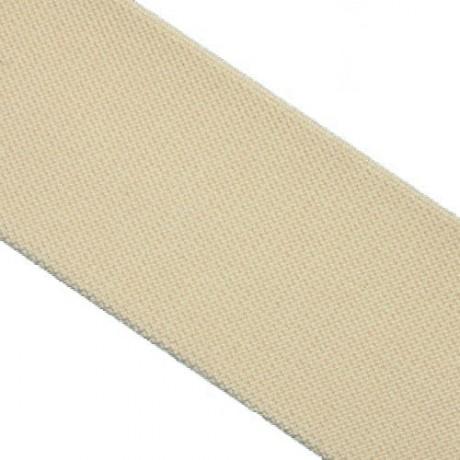 Galanterinė austa elastinė juosta (guma) 50 mm, sp. bėžinė