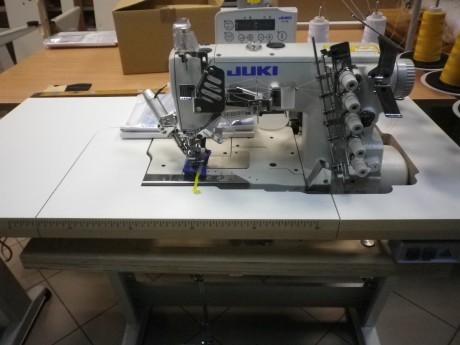 Plokščesiūlė siuvimo mašina, skirta kantavimui JUKI MF7523-U11-B64/ SC-921
