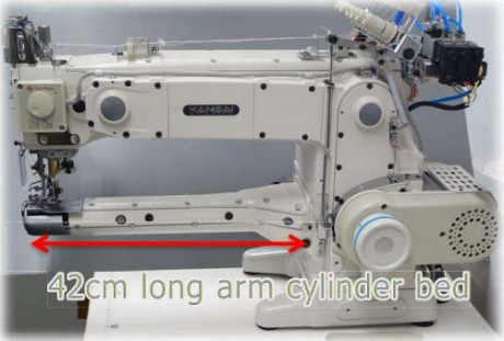 Plokščiasiūlė Kansai Special KC2803-UTC-A