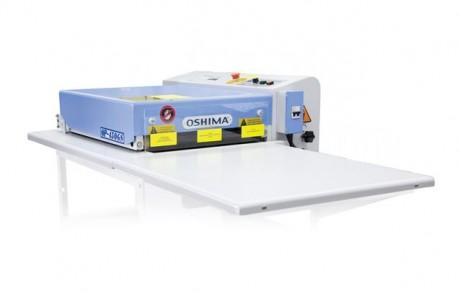 Juostinis dublaivimo presas atviru šonu OSHIMA OP-450GS