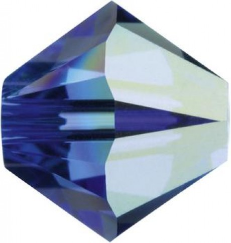Karoliukai 5328/4 Sapphire