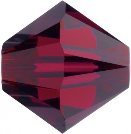 Karoliukai 5328/4 Ruby