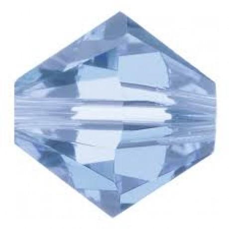 Karoliukai 5328/4 Light Sapphire