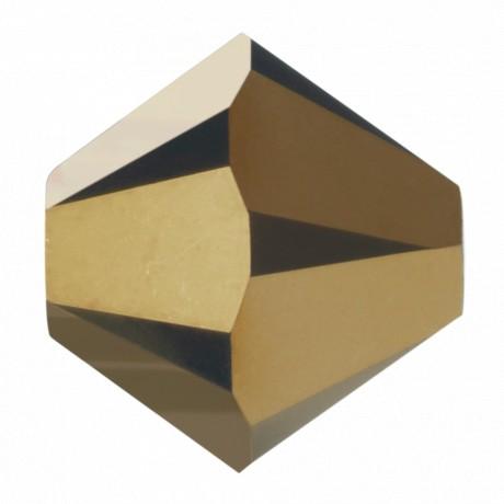 Karoliukai 5328/4 Crystal Dorado 2x