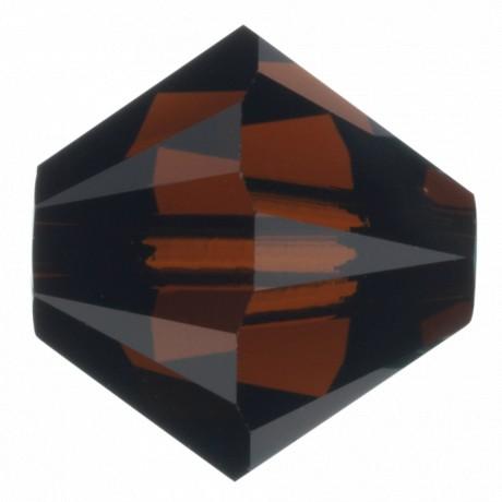 Karoliukai 5328/4 Mocca