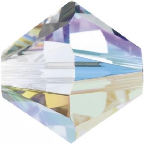 Karoliukai 5328/4 Crystal AB