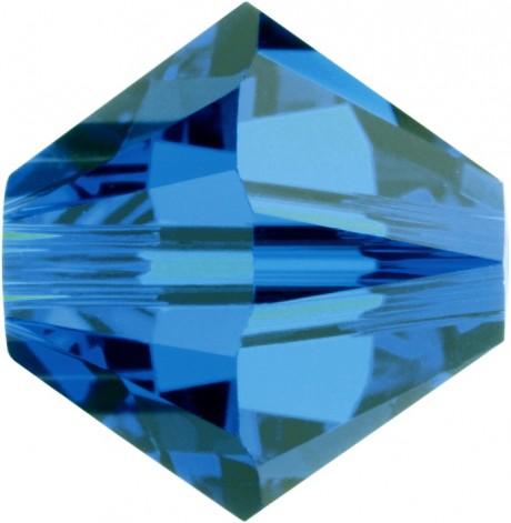 Karoliukai 5328/4 Capri Blue