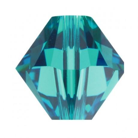 Karoliukai 5328/4 Blue Zirkon
