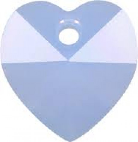 Pakabukas 6202/14 Heart Pendant Air Blue Opal