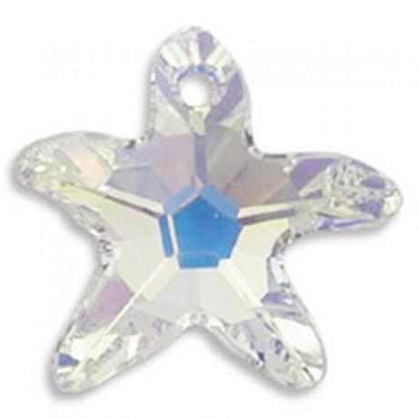 Pakabukas 6721/16 Starfish Pendant Crystal AB