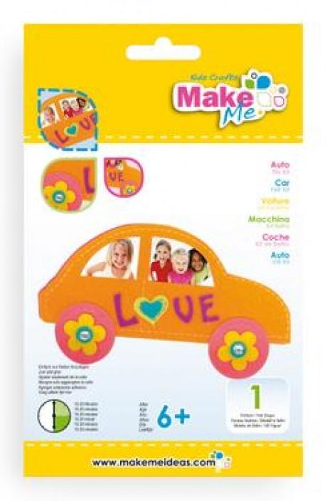 """Veltinio žaislo rinkinys """"Automobilis"""""""