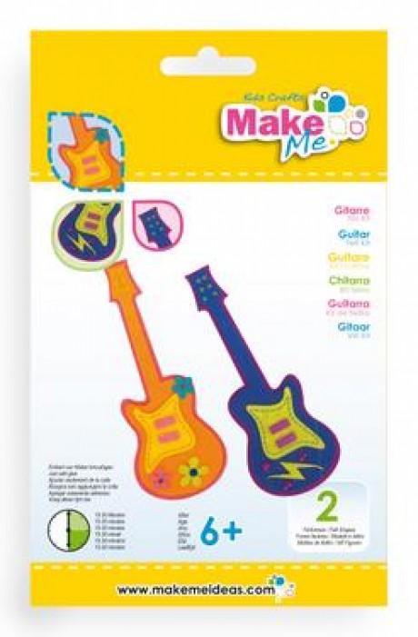 """Veltinio žaislo rinkinys """"Gitara"""""""