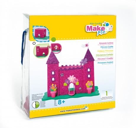 """Putplasčio 3D žaislo rinkinys  """"Princesės rūmai"""""""