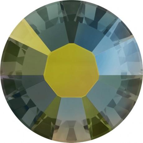 Swarovski kristalai 2078/34 Iridescent Green A
