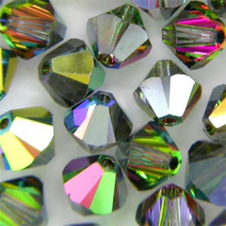 Karoliukai 5328/6 Crystal Vitrail Medium