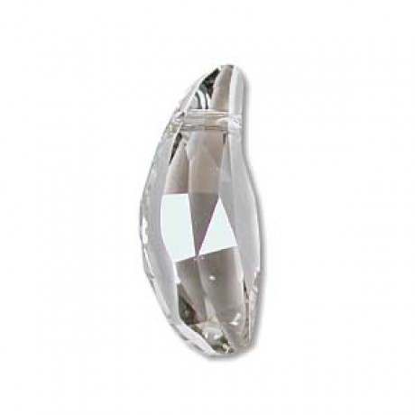 Karoliukas 5531/36 Aquiline Pendant Crystal Silver Shade