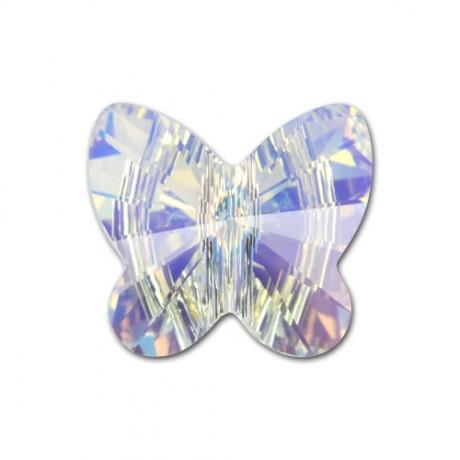 Karoliukas 5754/6 Butterfly Crystal AB