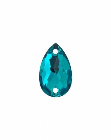 Prisiuvamas kristalas 3230/12 Blue Zircon