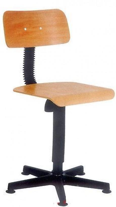 Siuvėjo kėdė faneros pagrindu